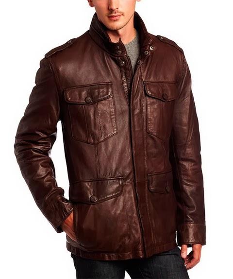 Кожаные куртки мужские 2013 из лаковой или матовой кожи прекрасно впишутся в Ваш гардероб и подойдут для
