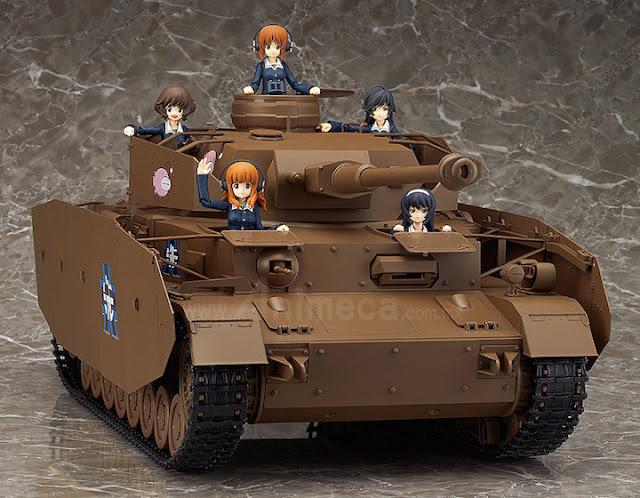 "Figura Panzer IV Ausf. D ""H-Spec"" 1/12 figma Vehicles Girls und Panzer"