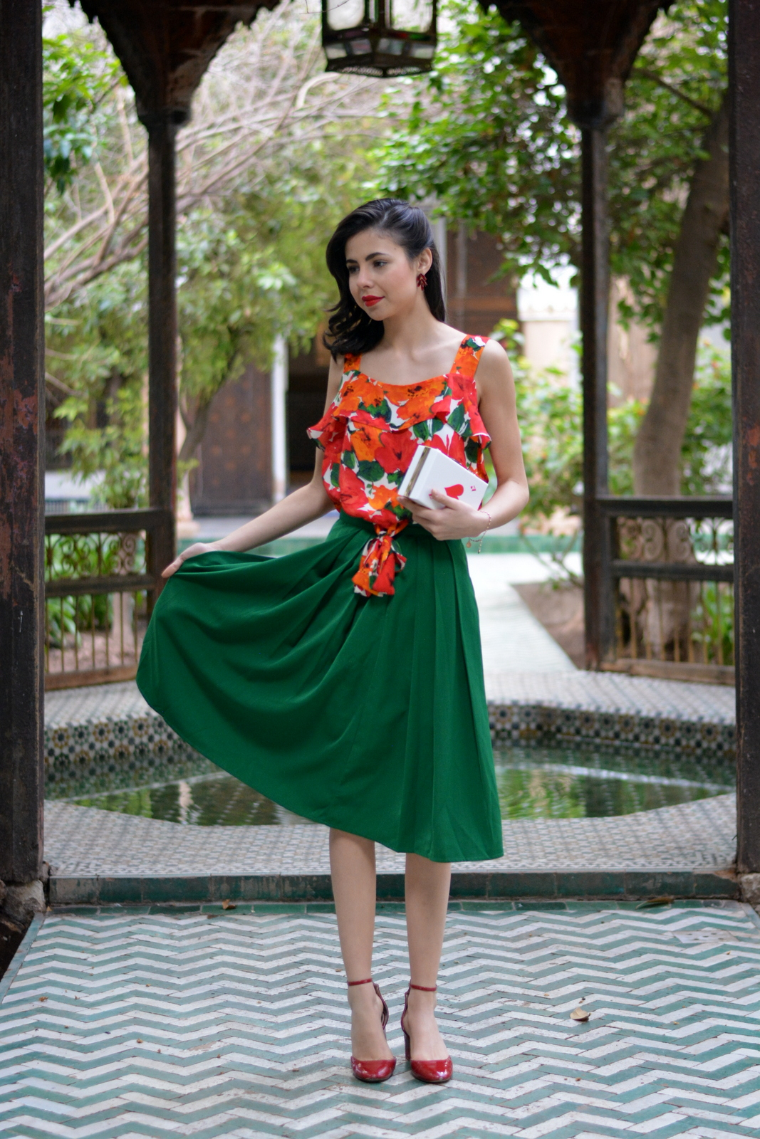 ootd, juliane borges, outfit, morocco, marrakech, persunmall, zara, oasap, editorial, magazine, culture and trend