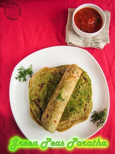 green-peas-roti
