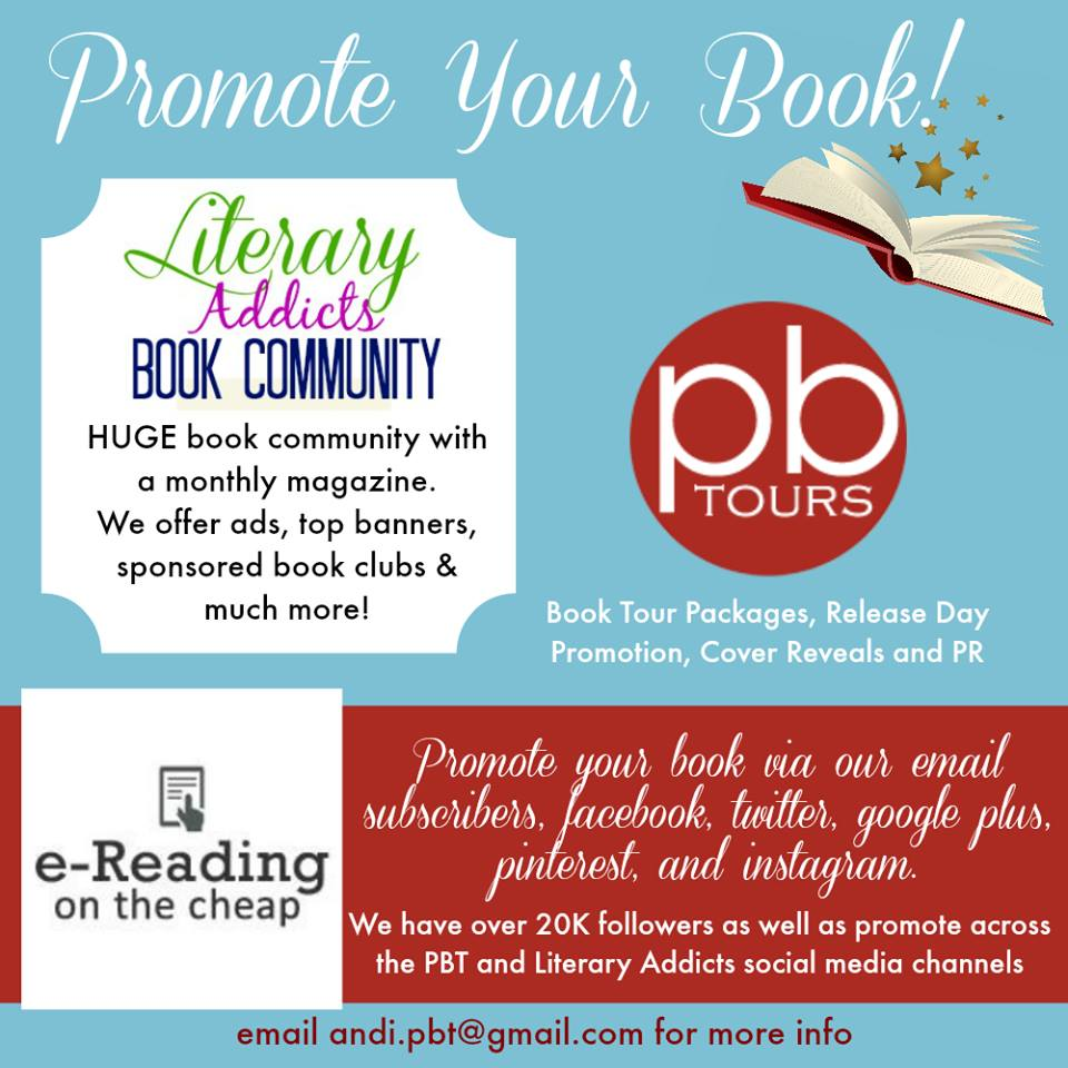 Promote your book to thousands of people!