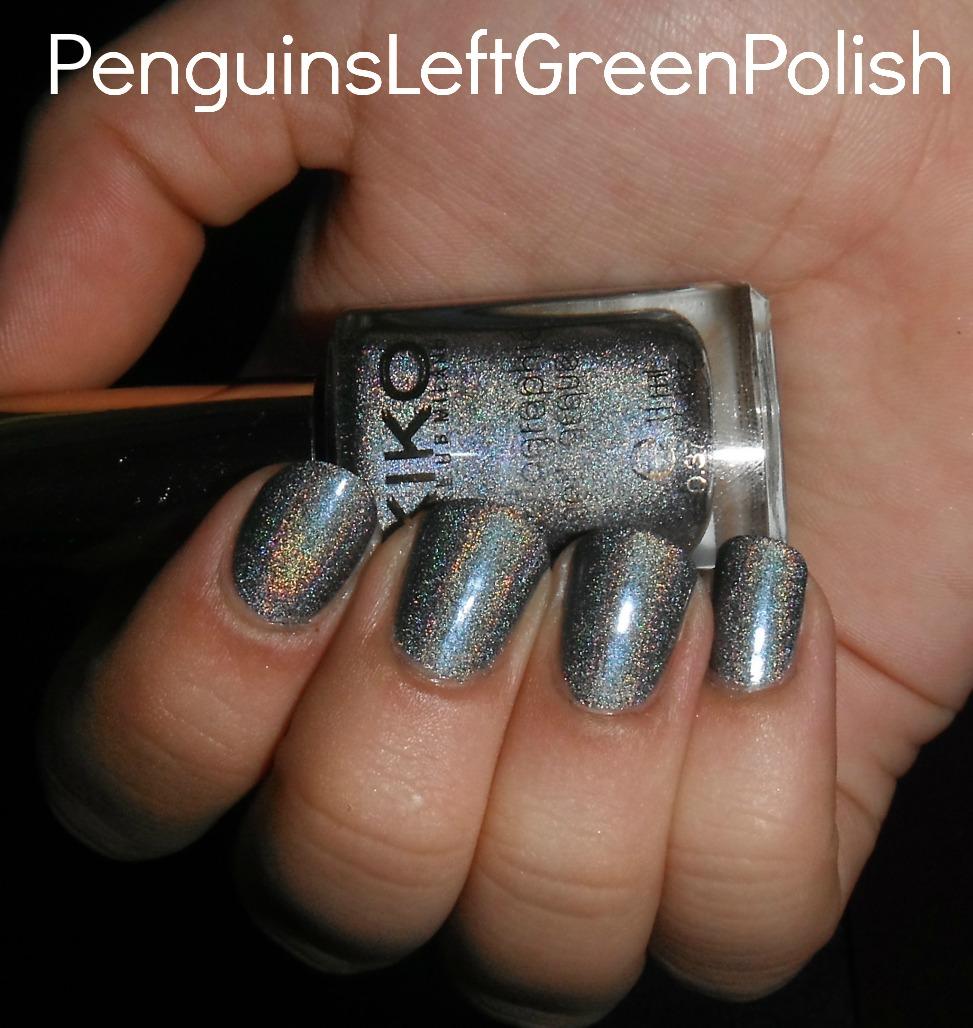 KIKO Holographic Silver Nail Polish