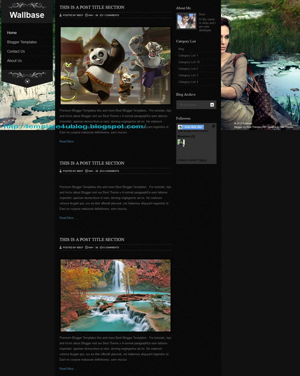 Wallbase Blogpage