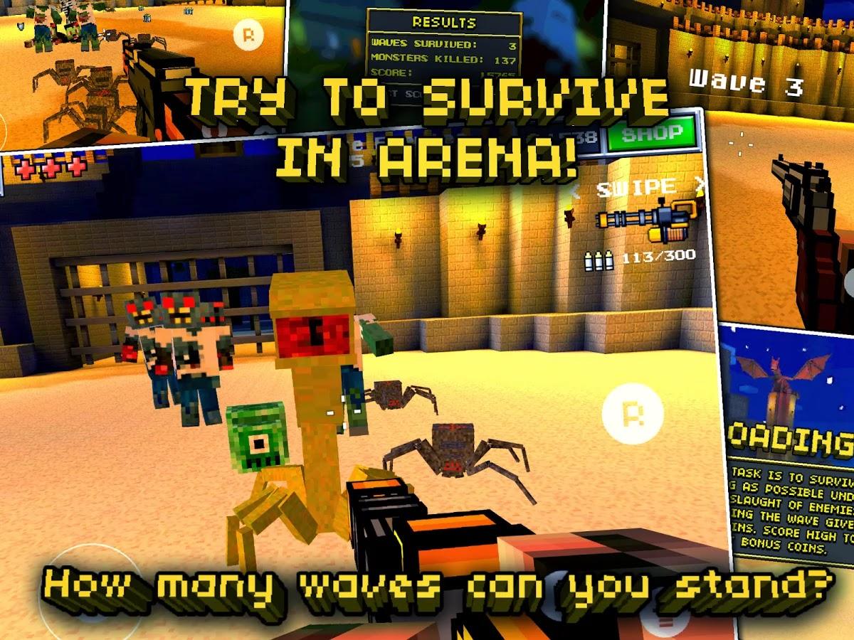 Pixel Gun 3D PRO Minecraft Ed. v6.3.1 [Mega Mod]