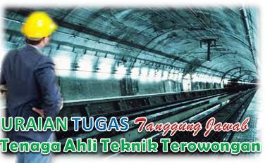 Uraian Tugas Teknik Terowongan