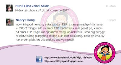 ESP bagus diamalkan sewaktu hamil
