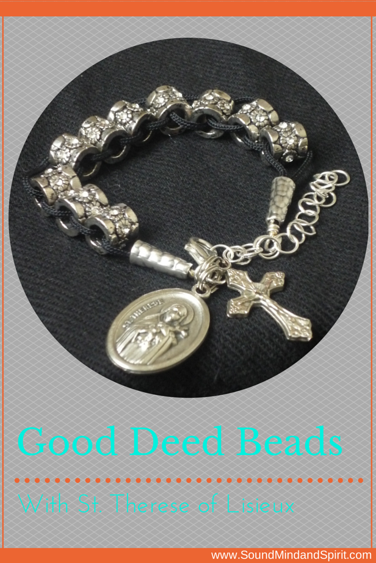 Good Deed Beads with St. Therese of Lisieux