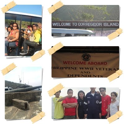 trip sa Corregidor island