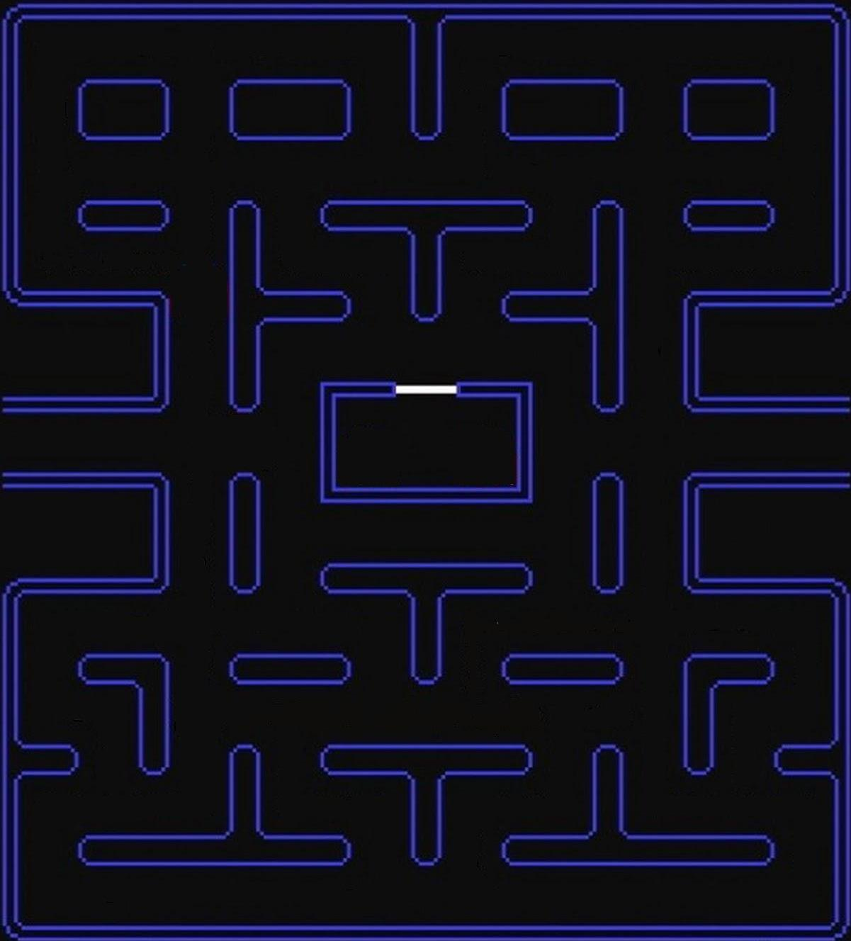 It's just a graphic of Sweet Pac Man Maze Printable