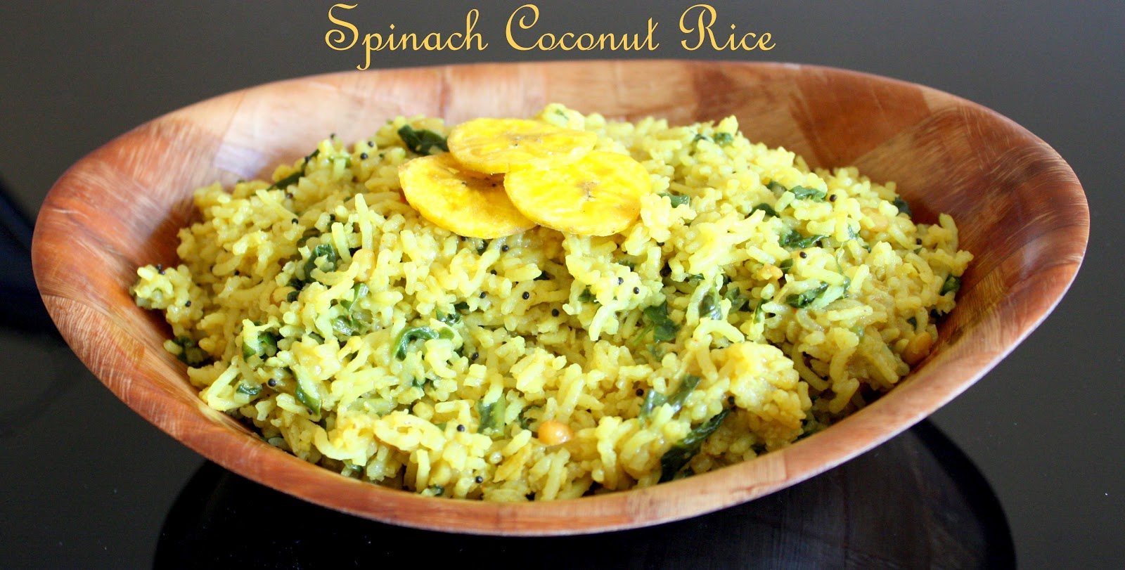 ... Priya: Spinach Coconut Rice ~ One pot variety rice/ Lunch-box meal