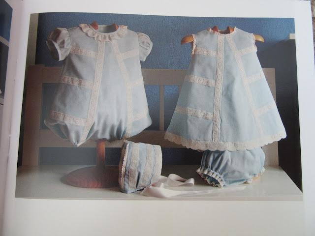 Revista con patrones de costura para ropa de bebé vestidos overol braga capota