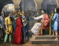 ACABABAN DE CRUCIFICAR A DOS REOS. NUESTRO SEÑOR JESUCRISTO REVELACIÓN CATALIA RIVAS