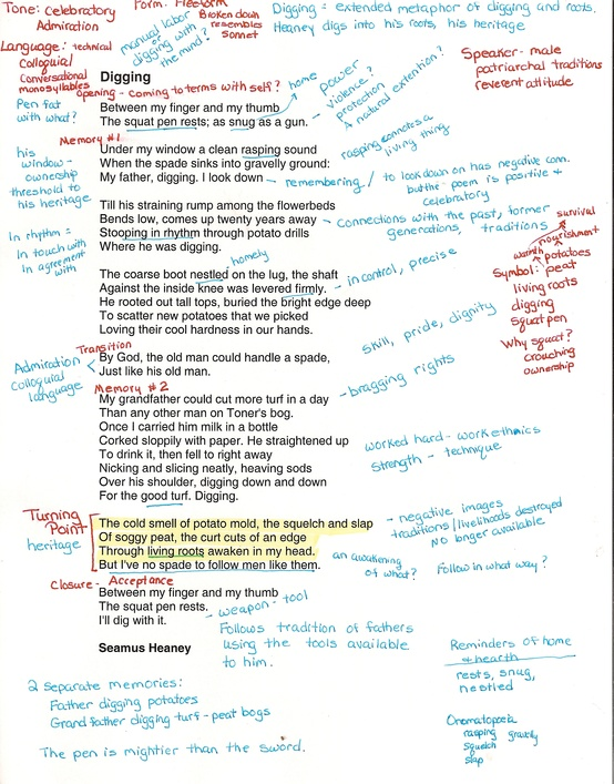 Ib For All Annotations Poetry