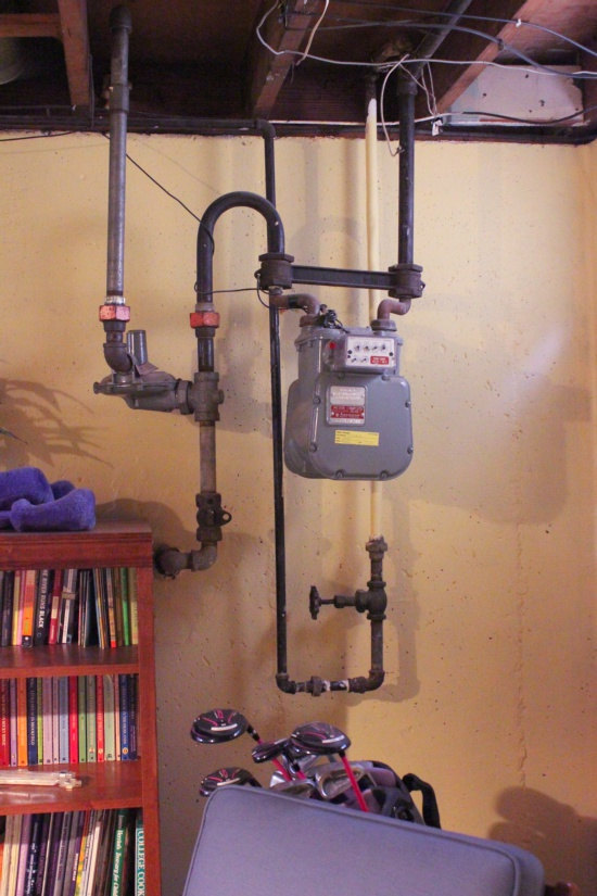 Inside A Gas Meter : Gas meter in bedroom beautifully contained epic room