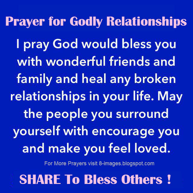 Prayer for godly relationships i pray god would bless you with altchristian prayers altavistaventures Image collections