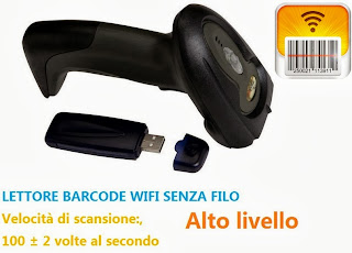 LETTORE BARCODE WIRELESS