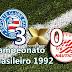 Gols de Bahia 3x0 Náutico - Campeonato Brasileiro de 1992 - Fonte Nova