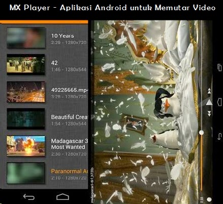VLC for Android Beta - Multimedia Player Untuk Android