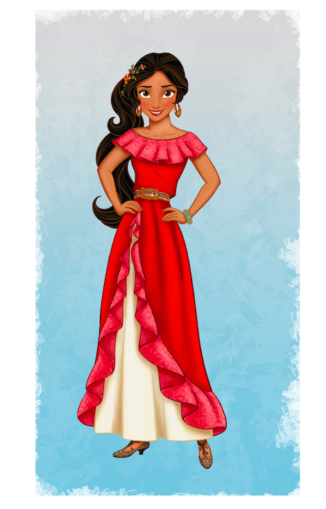 Disney's 1st Latina princess Elena of Avalor
