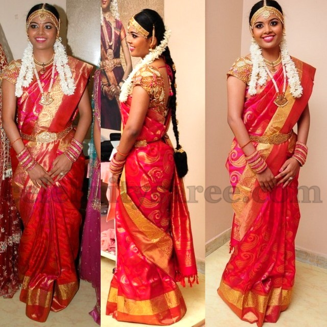 Girl In South Indian Saree