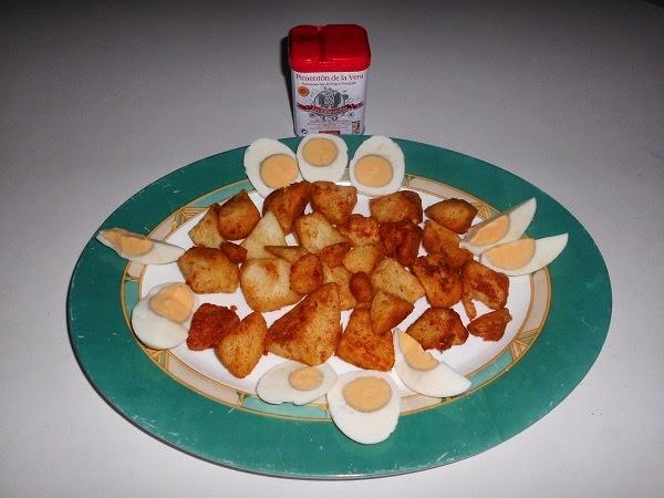 Patatas al pimentón dulce
