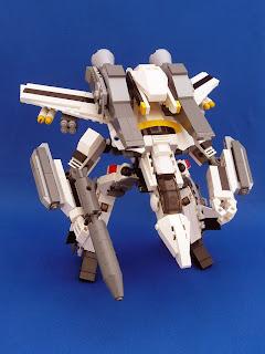 Transformable Lego Macross Valkyrie