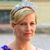 Style of Sophie, Countess of Wessex. jewelry, diamonds, diamond earrings, diamond rings, diamond necklaces, gold necklaces, gold bracelets, dresses,  clothes, clothing, shoe, wedding dress, newmyroyals