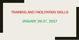 1. Training and Facilitation Skills
