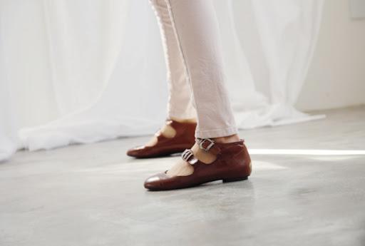 smoky alica korean fashion straps shoes