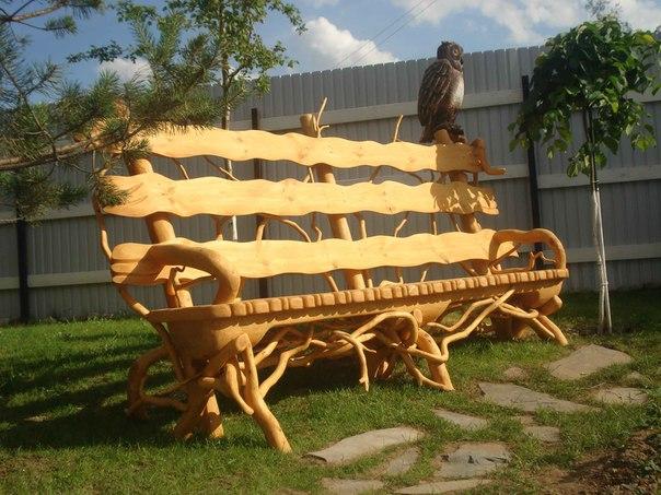 Мебель для дачи из подручного материала своими
