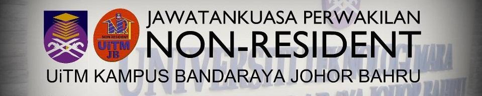 Jawatankuasa Perwakilan Non-Resident (JPNR) UiTM Johor Bahru