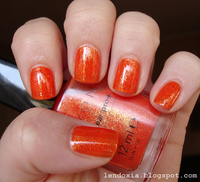 avon nailwear pro + mandarin magic