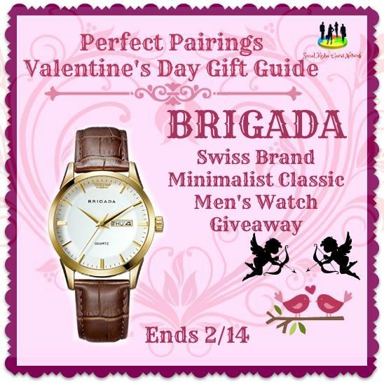 Brigada Swiss Brand Minimalist Classic Watch MENS
