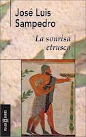 Portada del libro La sonrisa etrusca de José Luis Sampedro