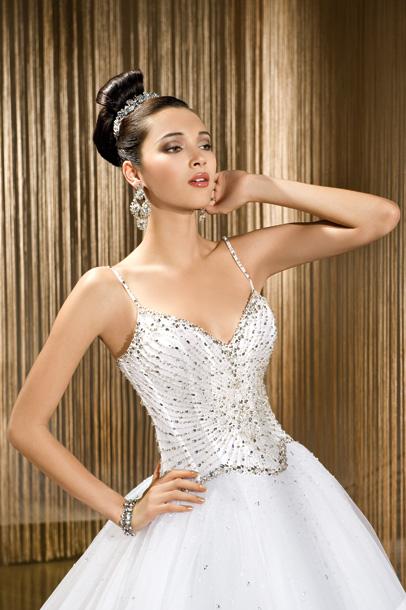 Suknie ślubne Vestido Princessa Jak Z Bajki Z Firmy Demetrios