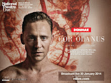 "Tom Hiddleston live in ""CORIOLANUS"""