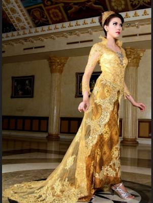 gaun pernikahan rancangan ivan gunawan