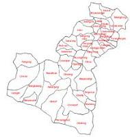 Peta Administratif kersamanah