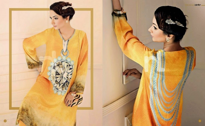 NishatLinen Summer EID Collection 2014 Vol-3