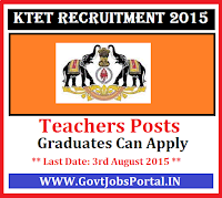 KTET Recruitment 2015