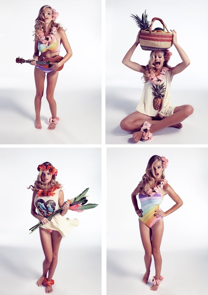 Wildfox Couture Hello Sailor Campaign Summer 2013
