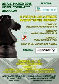 "II Festival de Ajedrez Nazarí ""Hotel Corona"""