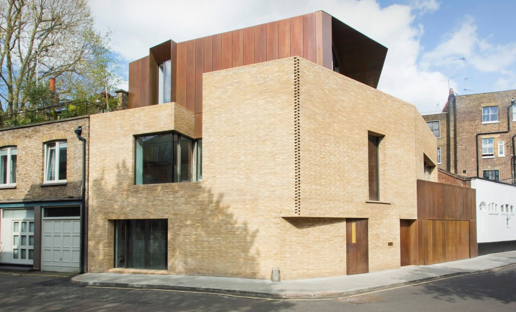 A f a s i a jamie fobert architects for Modern architecture house london