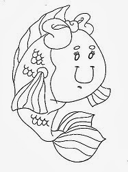 desenho de peixinha para pintar