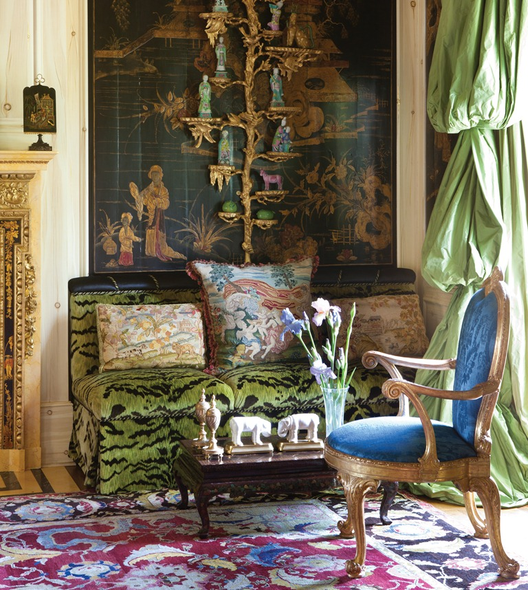 The peak of chic ann getty interior style for Decor st