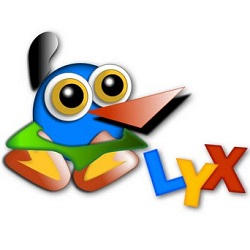lyx an open source document processor similar to word ppa