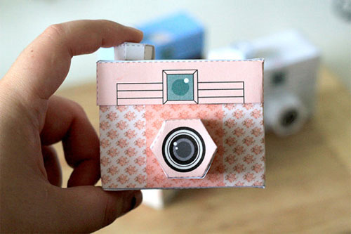 graphic about Camera Printable named Clean Printable Paper Digicam! Poppytalk
