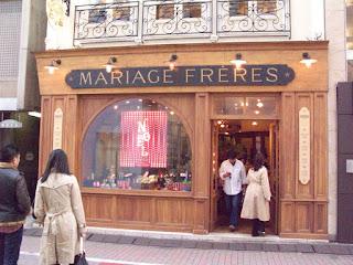 Mariage Freres, Ginza, Tokyo.