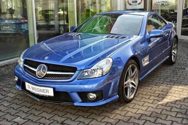 mercedes r230 sl 63 amg designo blue