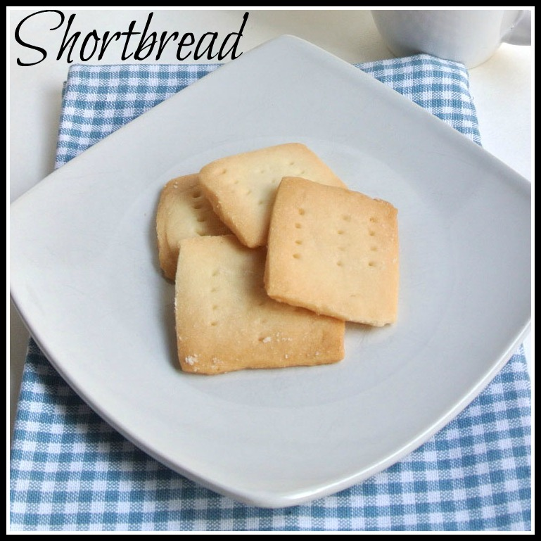 Mom, What's For Dinner?: Vanilla Shortbread Cookies